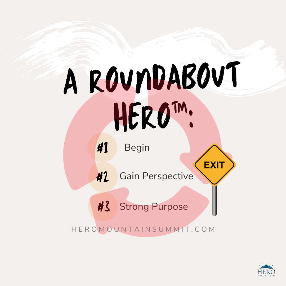 Roundabout Hero-3 Steps Deborah Johnson
