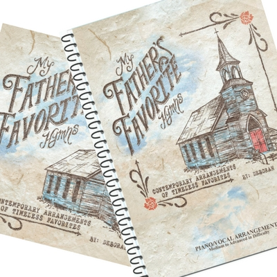 My Father's Favorite Hymns CD-Music Book