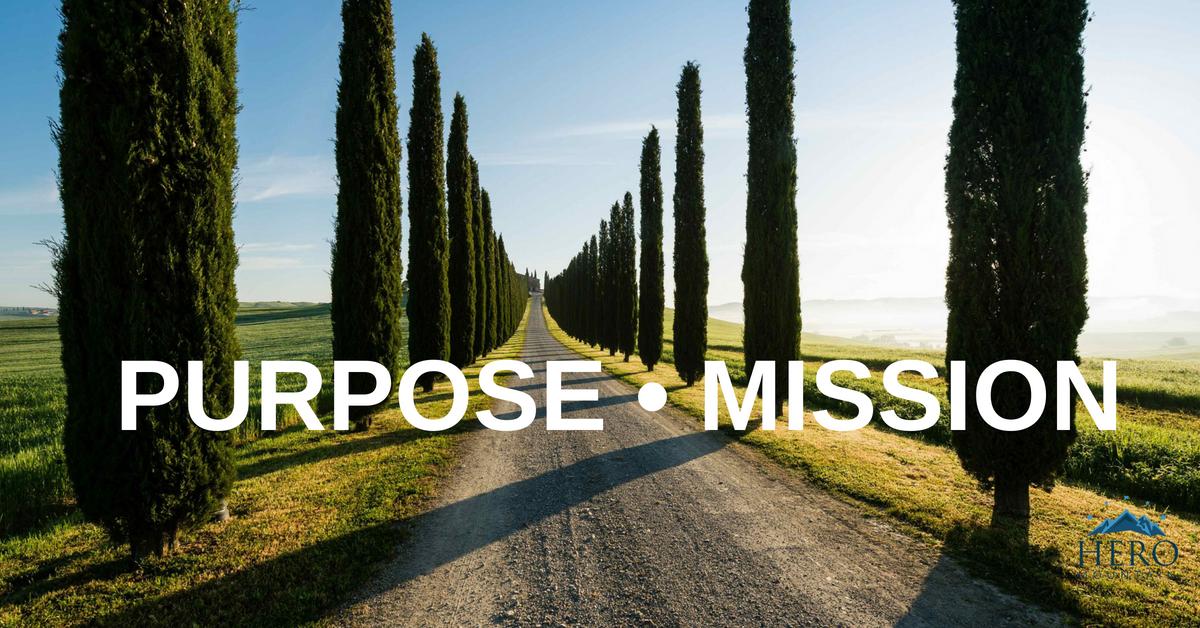Hero Mountain Purpose Mission