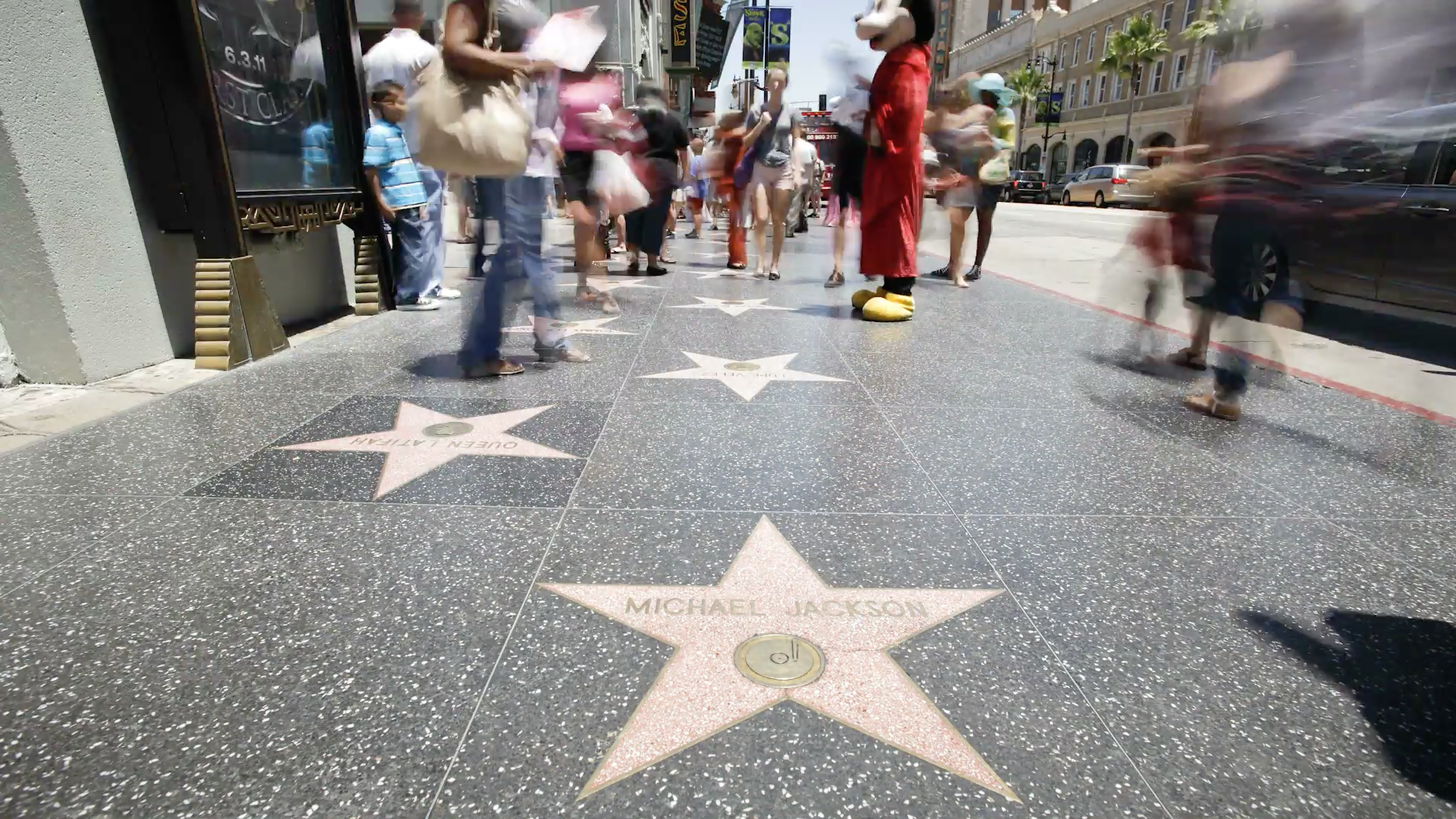 Hollywood Star-Michael Jackson
