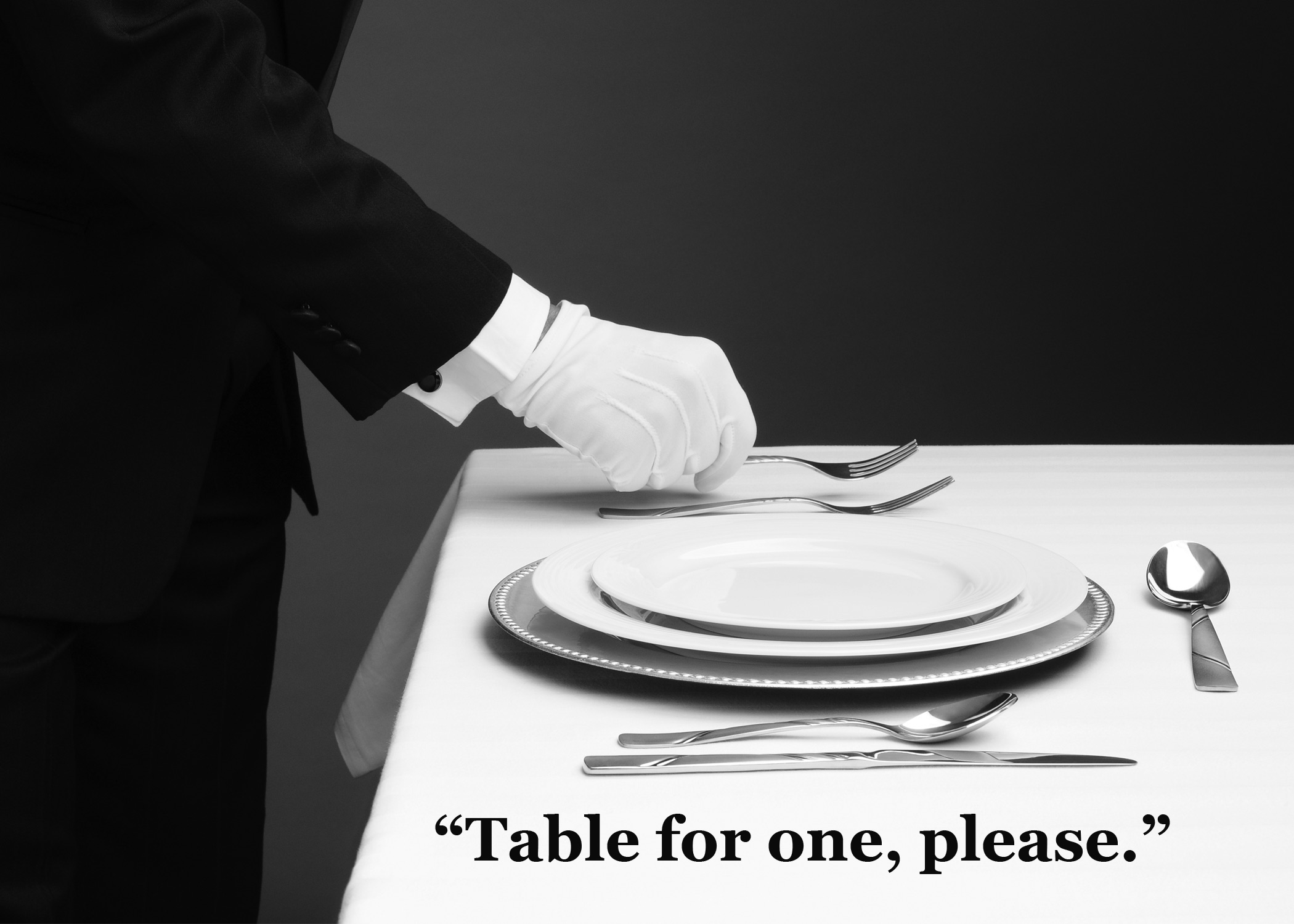 Table For One-Stuck