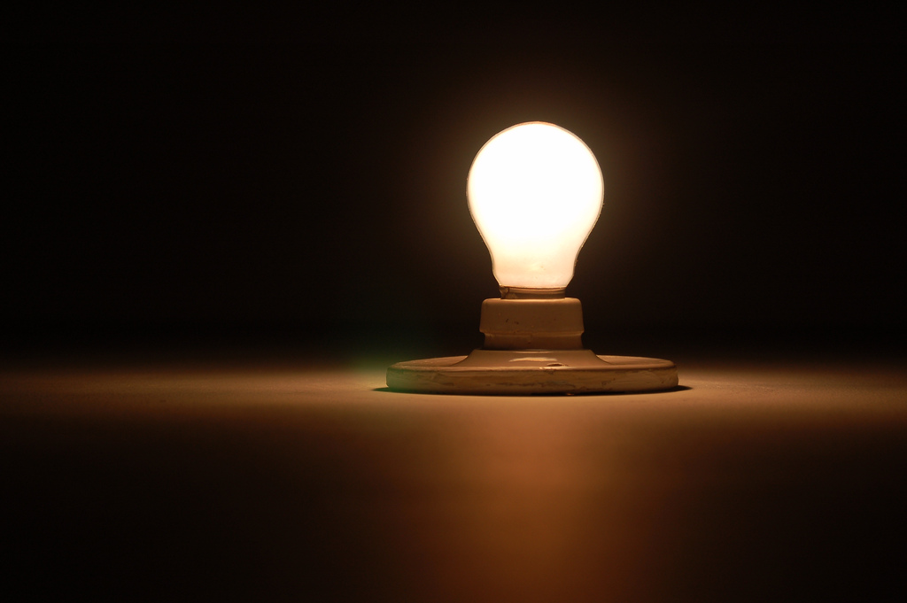 Positive Energy Lightbulb