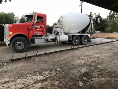 Cement Truck Form and Fill