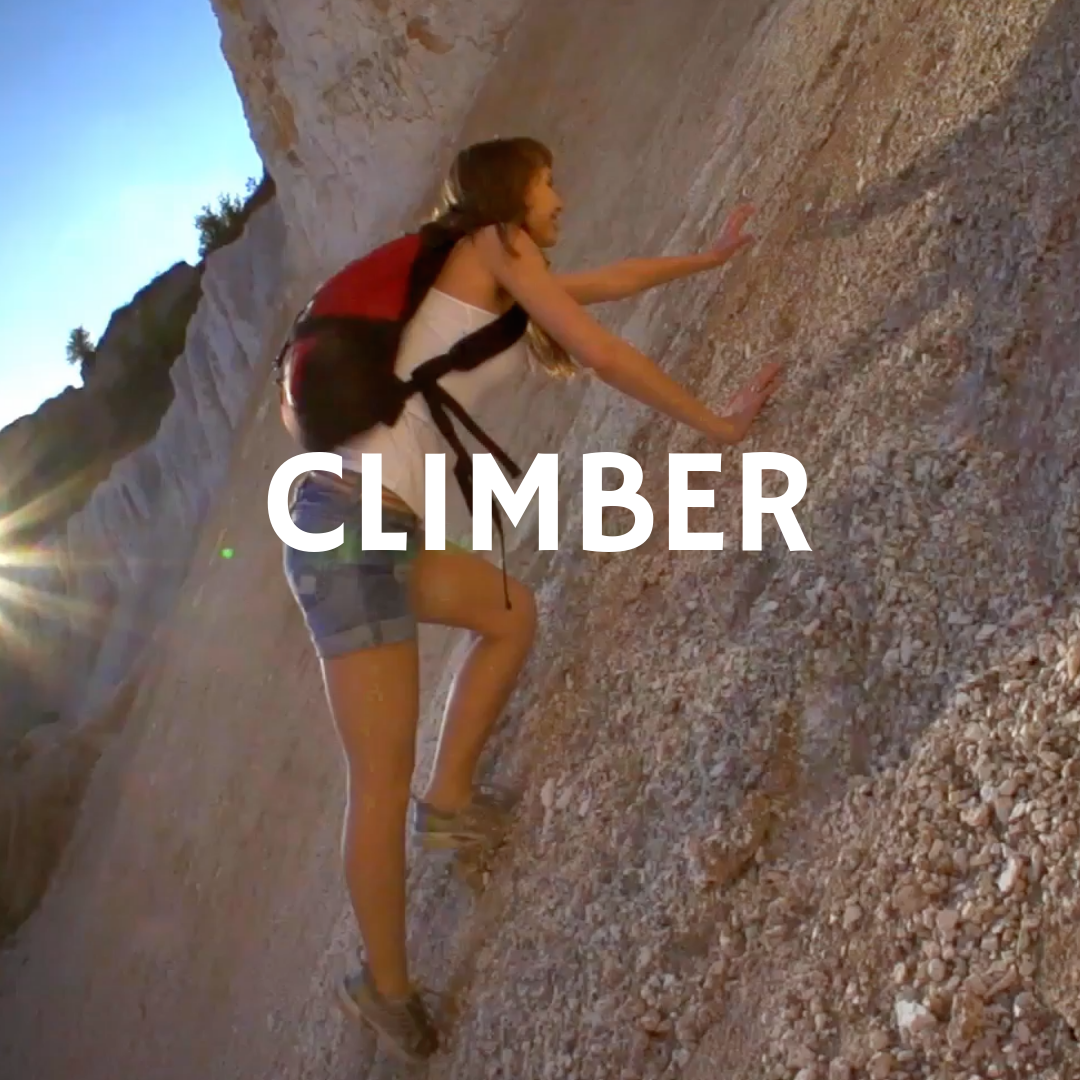 Climber-Hero Mountain