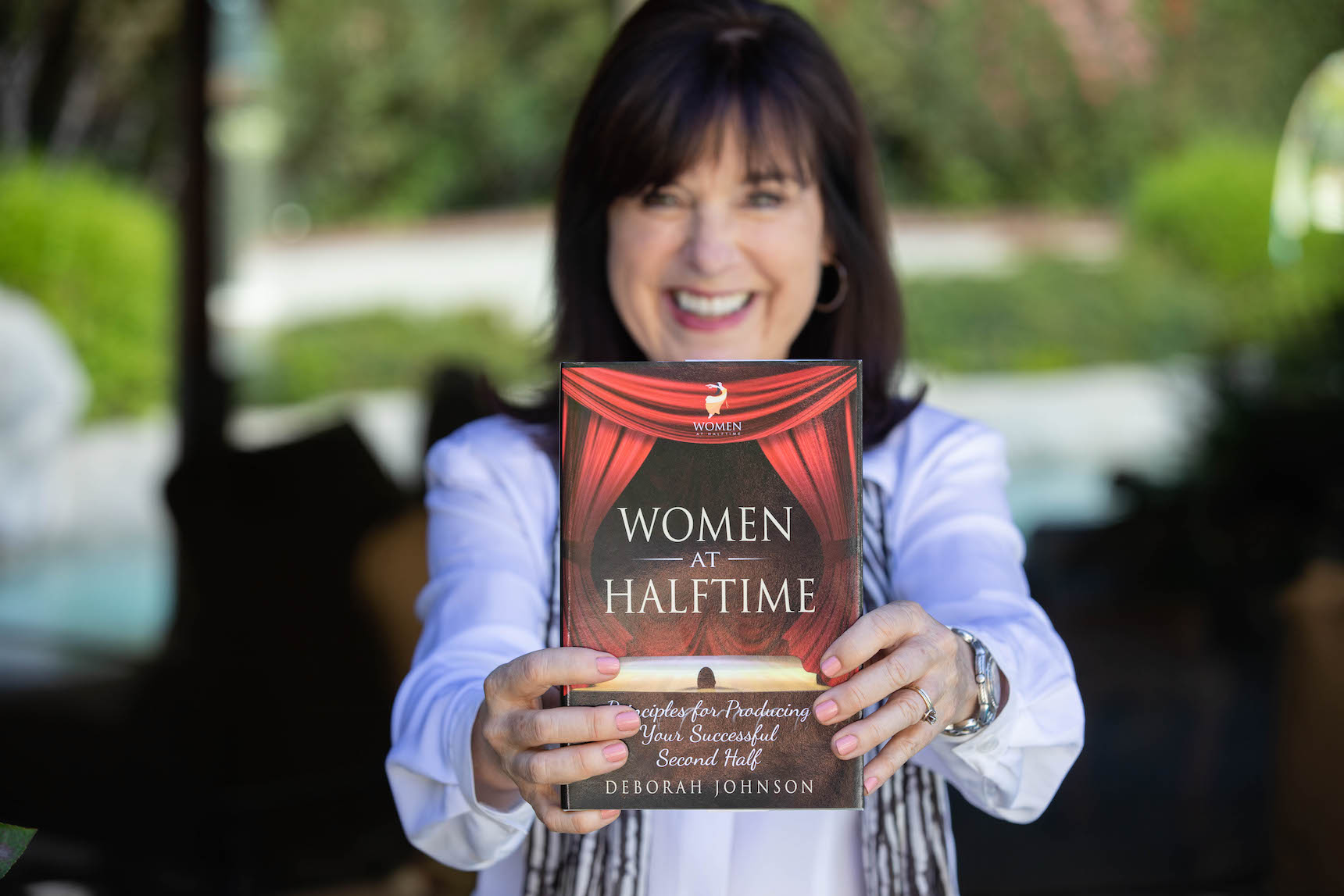 Women at Halftime Book Deborah Johnson