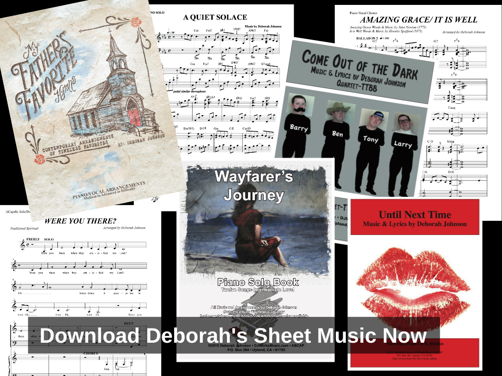Sheet Music Deborah Johnson