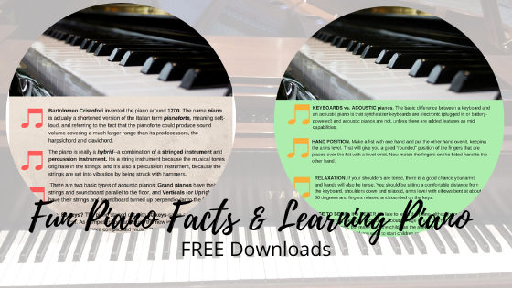 Fun Piano Facts-Learnin Piano Deborah Johnson