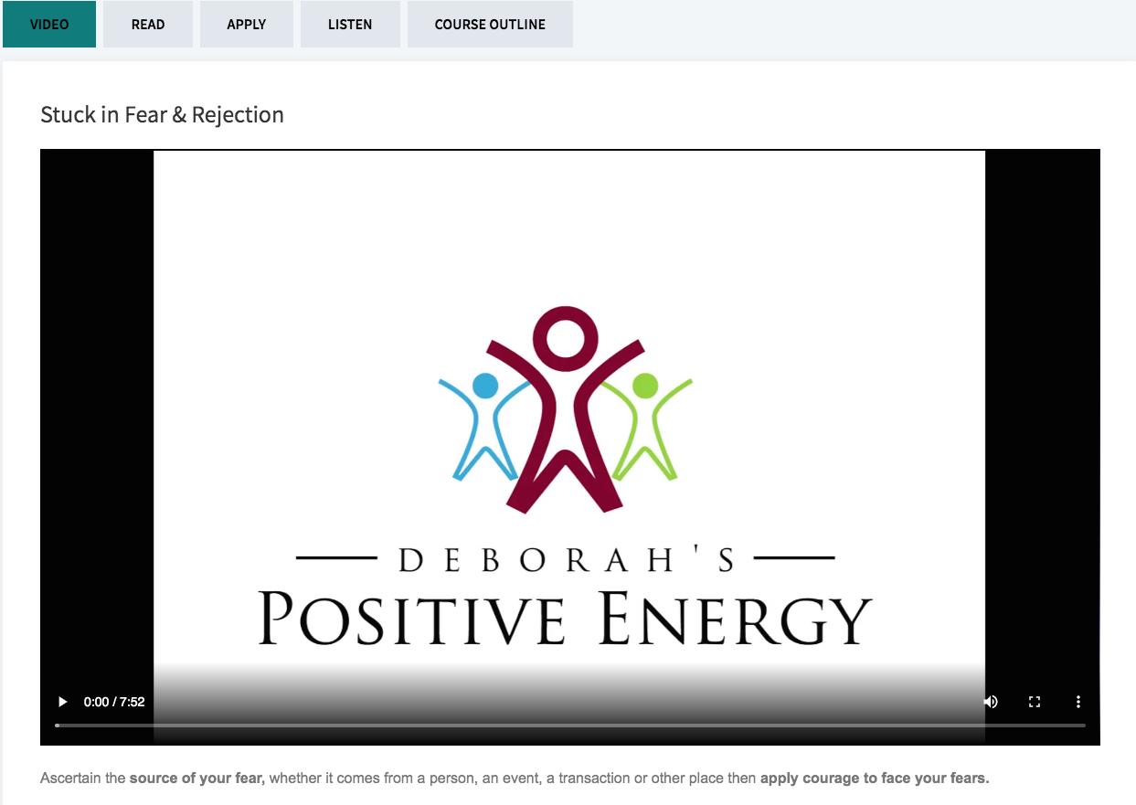 Get Unstuck Video Course-Deborah Johnson