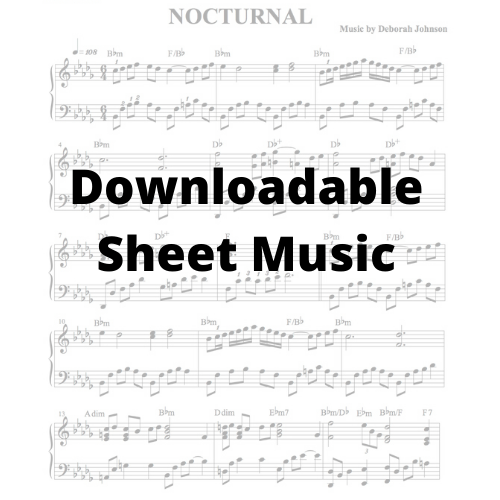Sheet Music-Deborah Johnnson