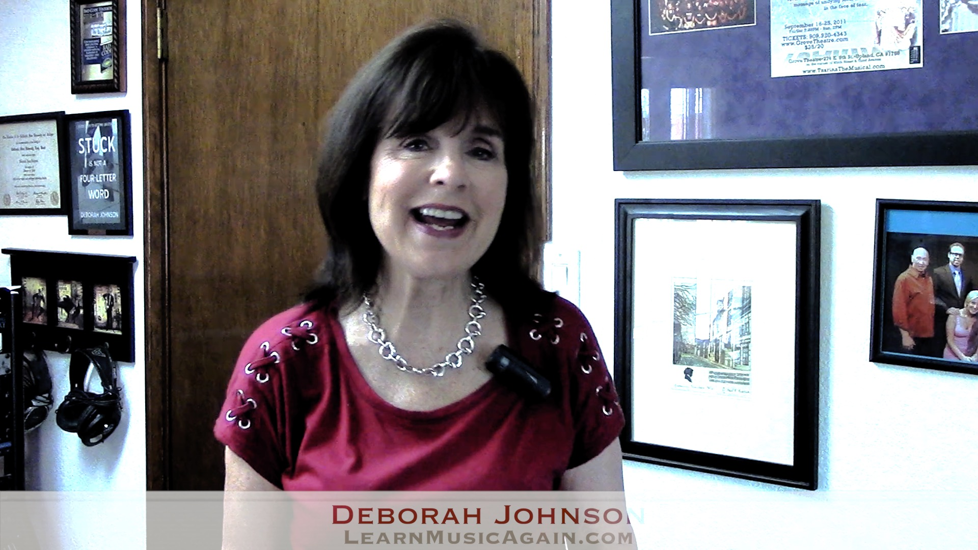 Learn Music Again Q&A-Deborah Johnson