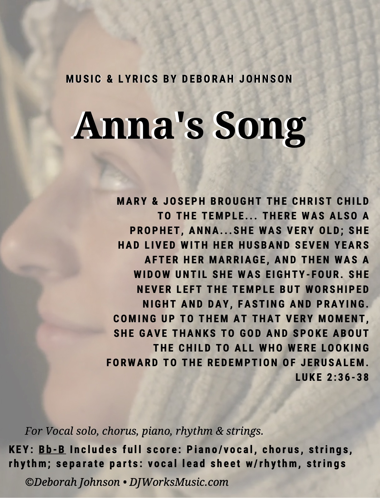 Anna's Song-Sheet Music cover