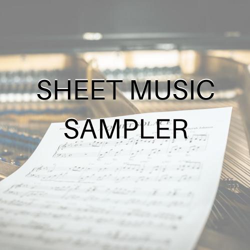 Sheet Music Sampler-Deborah Johnson